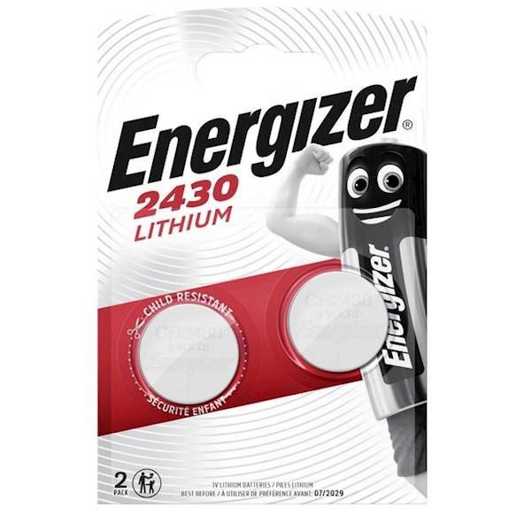 ელემენტი Energizer 2430 ლითიუმ ელემენტი-ღილაკი, 2ც შეკრა 2430-FSB2 (637991), 9914
