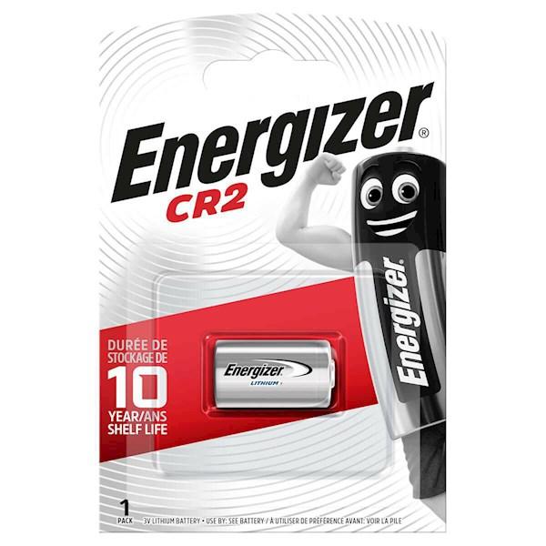 ელემენტი Energizer CR2 ფოტო ლითიუმ ელემენტი, 1ც შეკვრა CR2 FSB1 (638011), 6429