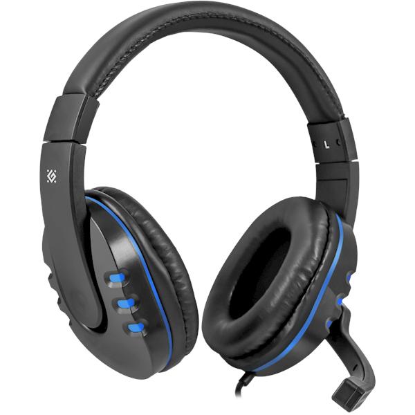 ყურსასმენი DEFENDER Warhead G-160 Gaming headset, cable 2,5 m