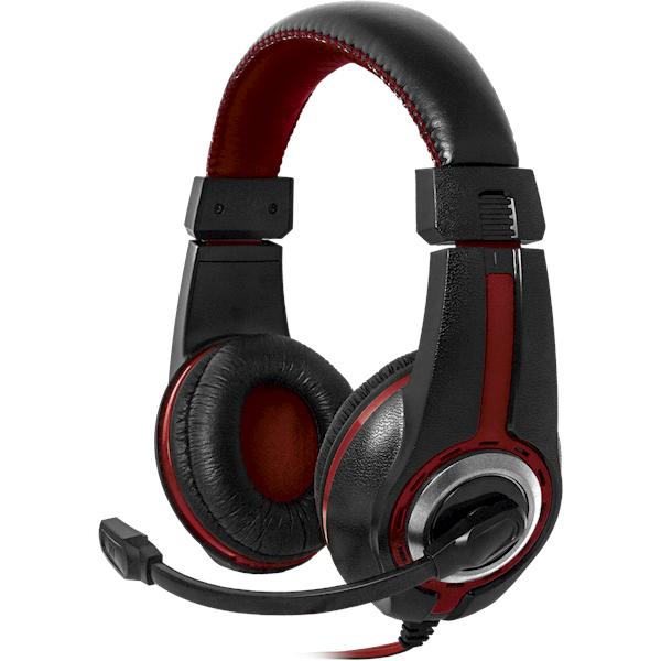 ყურსასმენი Defender Warhead G-185 black + red, cable 2 m