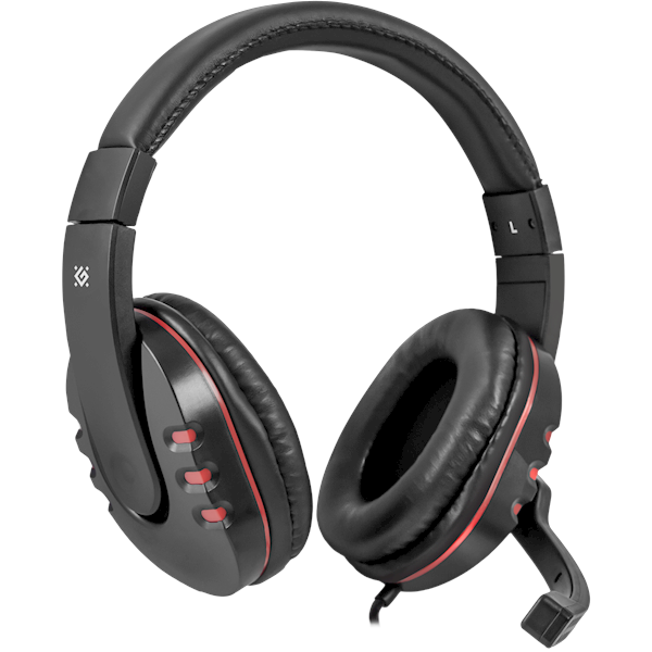Gaming ყურსასმენი მიკროფონით DEFENDER Warhead G-160, cable 2,5 m