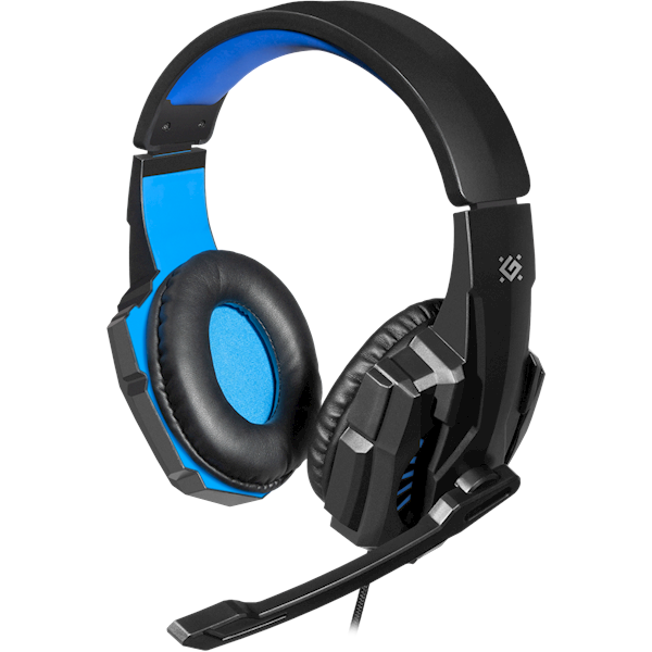 Gaming ყურსასმენი Defender Warhead G-390 Gaming headset, cable 1,8 m