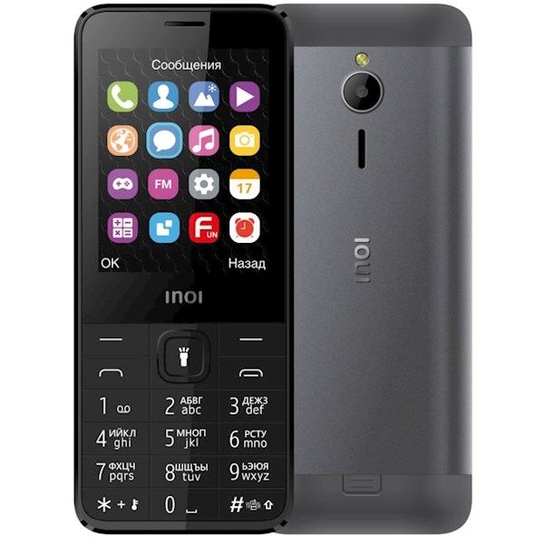 """მობილური ტელეფონი INOI 287Z 2.8 """" Dual Sim Black"""