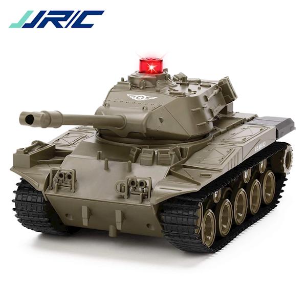 სათამაშო ტანკი JJRC Q85 1:30 2.4G Remote Control Car Tank Green