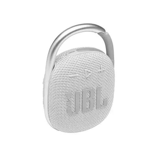 უსადენო დინამიკი JBL CLIP 4, 5W, თეთრი