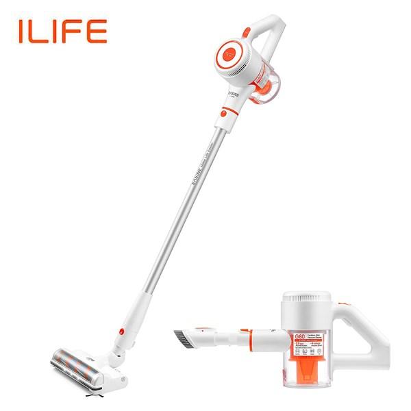 უსადენო მტვერსასრუტი EASINE BY ILIFE G80 Cordless Handheld Cordless Vacuum Cleaner, 22Kpa Suction, LED Display, 45 Minutes Working Time, Household Cleaning Tools